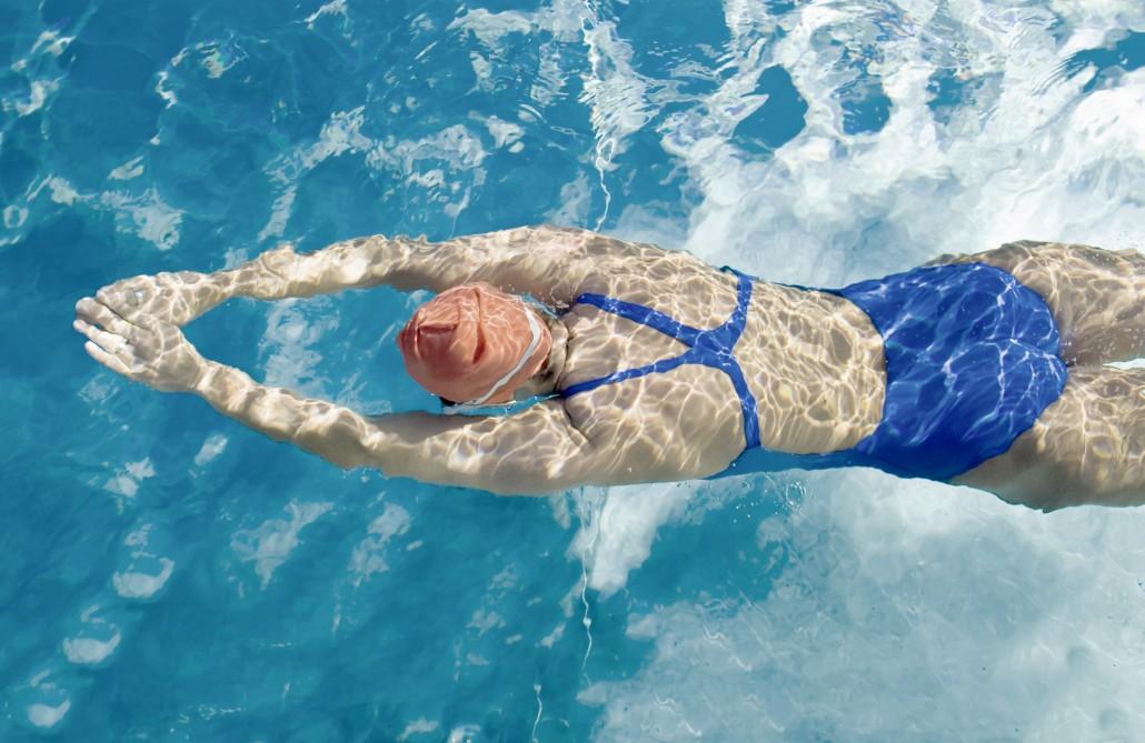 Sportmedizin - Schwimmerin
