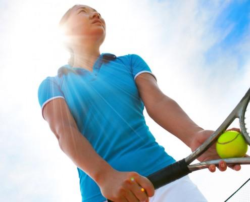 Tennis-Ellenbogen